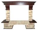 Портал Royal Flame Pierre Luxe сланец угловой для электрокаминов в Краснодаре