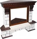 Портал Royal Flame Pierre Luxe угловой для очага Dioramic 28 FX