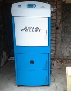 Твердотопливный котел ZOTA Pellet 63S